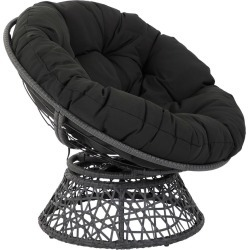 Papasan Chair Black - Osp Home Furnishings