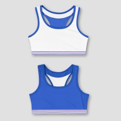 Hanes Girls' Seamless Racerback - Blue S found on Bargain Bro India from target for $10.49