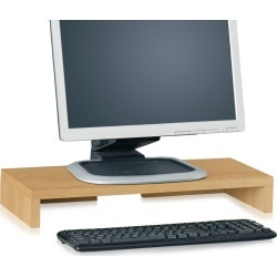 Eco Friendly Monitor Stand Riser Natural - Way Basics found on Bargain Bro India from target for $21.99