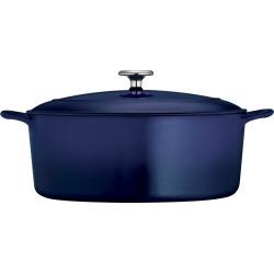 Tramontina 7 Quart Cast Iron Dutch Oven - Blue