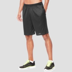 Hanes Men's 9 Sport Long Mesh Shorts - Black L found on Bargain Bro India from target for $9.99