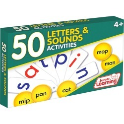 Junior Learning 50 Letters & Sounds Activities Learning Set