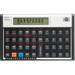 HP 12c Platinum Financial Calculator, 10-Digit LCD, Black found on Bargain Bro Philippines from target for $79.99