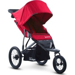 Joovy Zoom 360 Ultralight Jogging Stroller - Red
