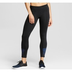 Women's Embrace Run Tight Leggings - C9 Champion Black/Blue Geo Print XL found on Bargain Bro from target for $39.99