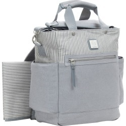 Ergobaby Stripe Diaper Bag - Gray found on Bargain Bro Philippines from target for $79.99
