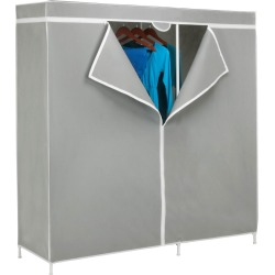 Honey-Can-Do closet systems and components Gray