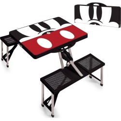 Picnic Time Disney Mickey Mouse Portable Folding Picnic Table - Black found on Bargain Bro India from target for $166.95