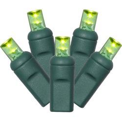 "100Lt LED String Lights Set WA EC 6""x50'L – Lime"