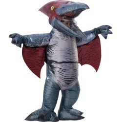 Halloween Adult Jurassic World Fallen Kingdom Pteranodon Inflatable Halloween Costume, Adult Unisex, Size: Small, Silver found on Bargain Bro Philippines from target for $80.00