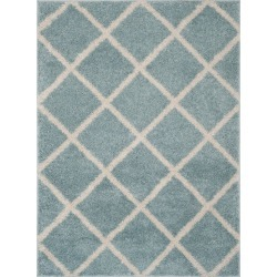 4'X6' Geometric Loomed Area Rug Blue/Ivory - Safavieh found on Bargain Bro India from target for $101.99