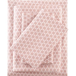 3M Microcell Print Sheet Set (King) Blush found on Bargain Bro India from target for $44.99