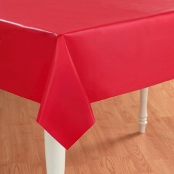 Red Rectangle Tablecover, disposable tableware accessories