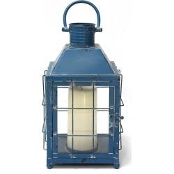 Lighthouse Lantern Blue - Stratton Home Decor