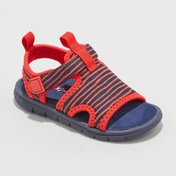 Toddler Boys' Vern Water Shoes - Cat & Jack Navy 10, Boy's, Blue found on Bargain Bro India from target for $14.99