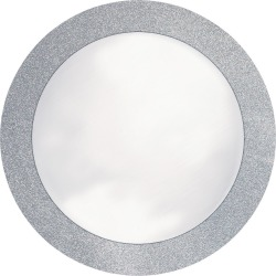 8ct Glitz Silver Disposable Placemats