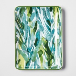 Rectangle Jewelry Storage Tray Jungle Arms - Opalhouse , Adult Unisex, Size: Small, Blue