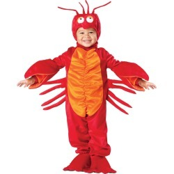 Halloween Kids' Lil Lobster Costume - 4T, Adult Unisex, MultiColored