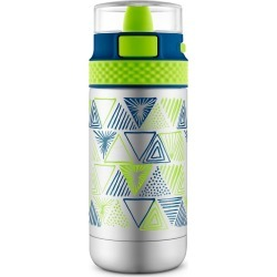 Ello Ride 12oz Vacuum Insulated Stainless Steel Water Bottle - Blue/Green