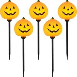 Halloween 5ct Pumpkin Halloween Path Lights - Hyde & EEK! Boutique
