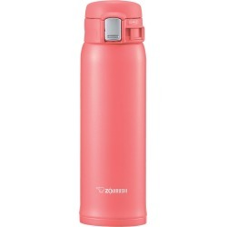 Zojirushi 16oz Stainless Steel Vacuum Bottle with Nonstick Interior - Coral Pink
