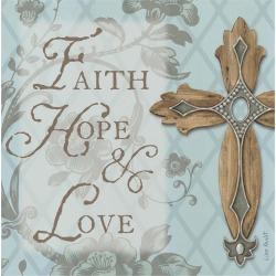 Thirstystone Faith, Hope, Love Cross 4 Piece Occasions Coaster Set