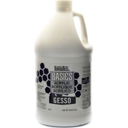 Liquitex Basics Gesso, 64 oz, White found on Bargain Bro India from target for $17.49