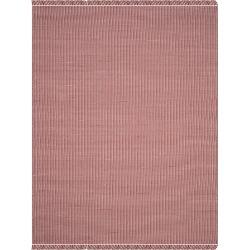 Ivory/Red Stripe Flatweave Woven Area Rug 8'X10' - Safavieh
