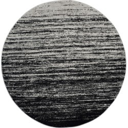 8' Ombre Design Round Area Rug Silver/Black - Safavieh found on Bargain Bro India from target for $289.99