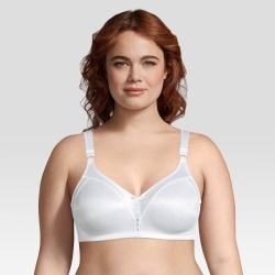 Beauty by Bali Women's Double Support Wirefree Bra B820 38DD White found on Bargain Bro India from target for $19.99