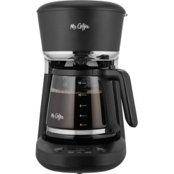 Mr. Coffee 12 Cup Easy Clean Programmable Coffee Maker Black