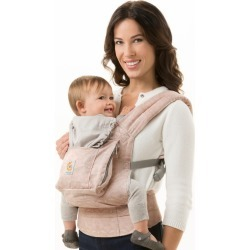 Ergobaby Organic Ergonomic Multi-Position Baby Carrier - Rose Harmony, Multi-Colored