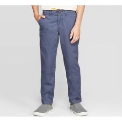Boys' Chino Pants - Cat & Jack Blue 12