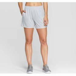 Women's Sport Shorts - C9 Champion Light Gray XS found on Bargain Bro India from target for $9.09