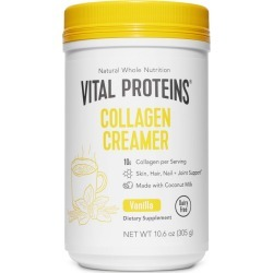 Vital Proteins Collagen Creamer Vanilla Dietary Supplements - 10oz, Adult Unisex