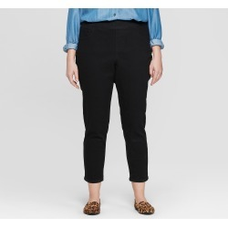 7d5fa071149 Women s Plus Size Pull on Jeggings - Ava   Viv Black 14W found on MODAPINS  from
