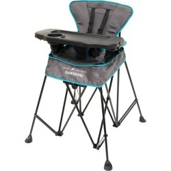 Baby Delight Go WIth Me Uplift Deluxe Portable High Chair, Gray