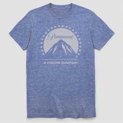 petiteMen's Paramount Short Sleeve Graphic T-Shirt - Royal Heather S, Men's, Size: Small, Blue found on Bargain Bro Philippines from target for $12.99