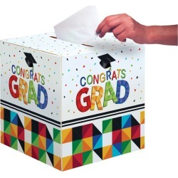 Graduation Fractal Fun Card Box