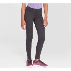Girls' Long Performance Leggings - C9 Champion Black XS Long, Girl's found on Bargain Bro India from target for $12.99