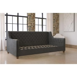 Jordyn Upholstered Daybed - Gray Velvet Twin - Dorel Home Products found on Bargain Bro India from target for $573.99