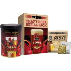 Mr. Beer Diablo IPA Craft Beer Making Refill Kit