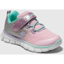 Toddler Girls' S Sport By Skechers Bethanie Jogger Sneakers - Pink 5, Girl's, White Pink Silver found on Bargain Bro Philippines from target for $24.99