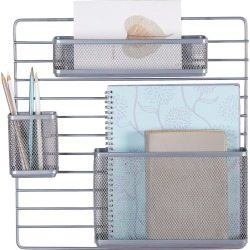 Mesh Additional Wall Organization Tools Silver - Made By Design