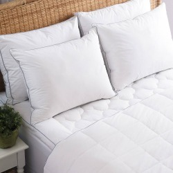 Allied Home Full PerfectCool Thermoregulating Mattress Pad White found on Bargain Bro India from target for $41.24