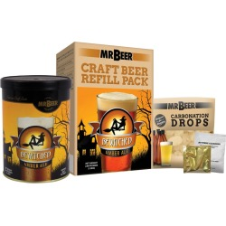 Mr. Beer Bewitched Amber Ale Craft Beer Making Refill Kit