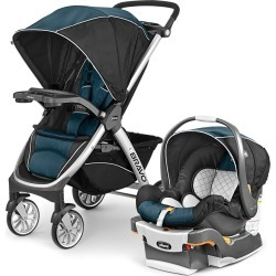 Chicco Bravo Travel System - Lake (Blue)