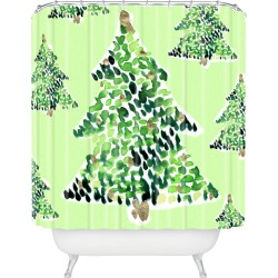 Cayenablanca Smells Like Christmas Shower Curtain - Deny Designs