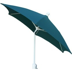 FiberBuilt 7.5' Patio Umbrella Forest Green found on Bargain Bro India from target for $129.99
