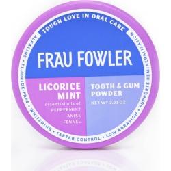 Licorice Mint Tooth & Gum Powder